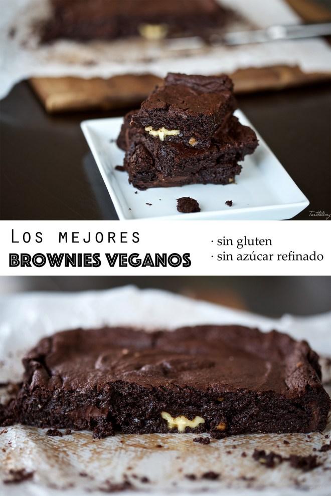Los mejores brownies veganos y sin gluten