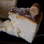 Tarta de queso de Aliter Dulcia con Dulce de leche y coco