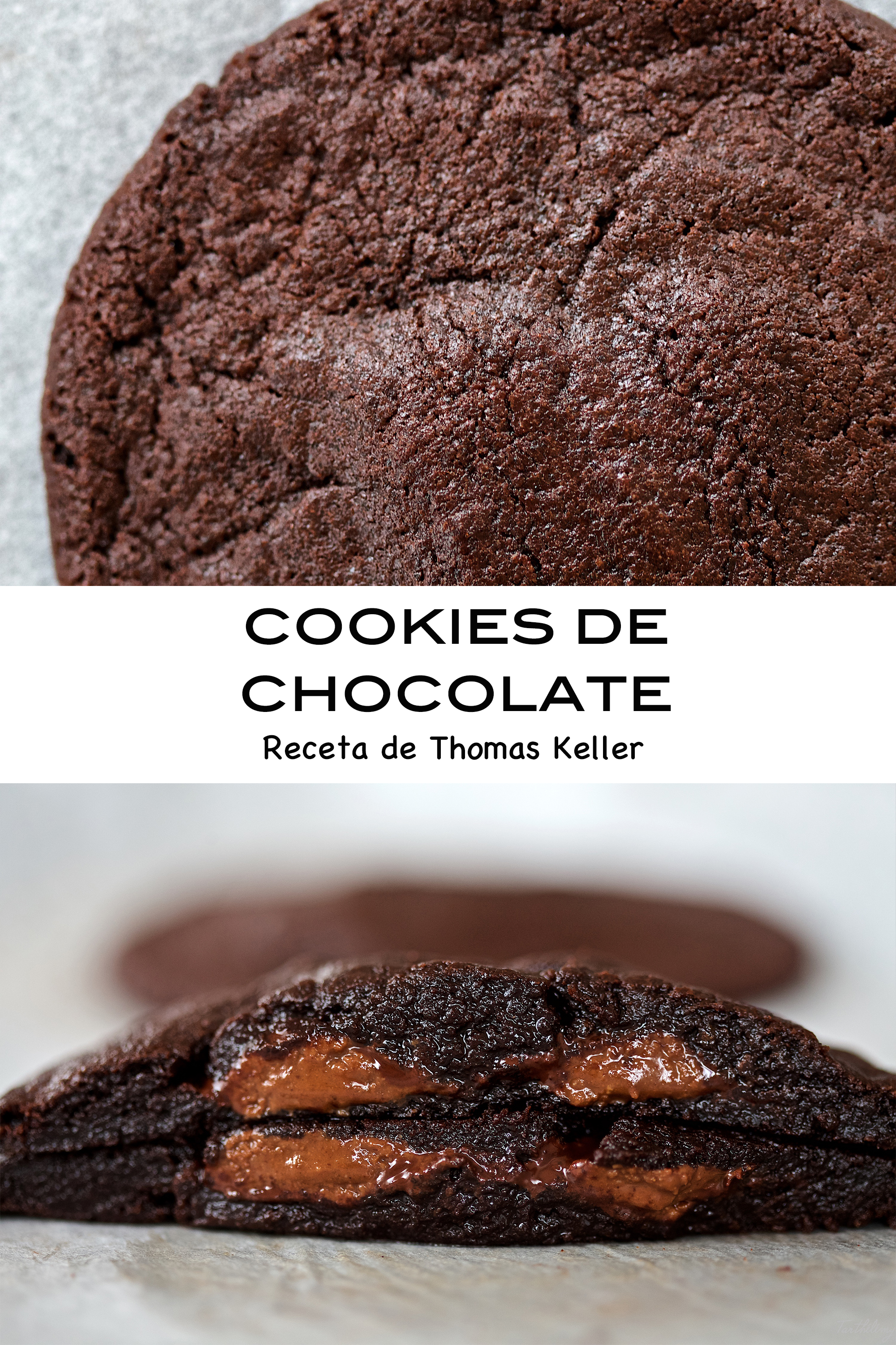 Cookies de chocolate, Thomas Keller (vídeo receta)