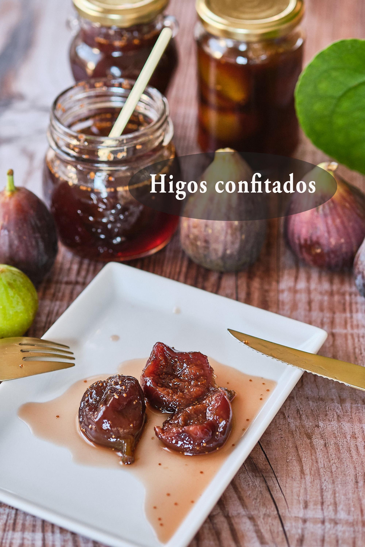 Higos confitados (vegano, sin gluten)