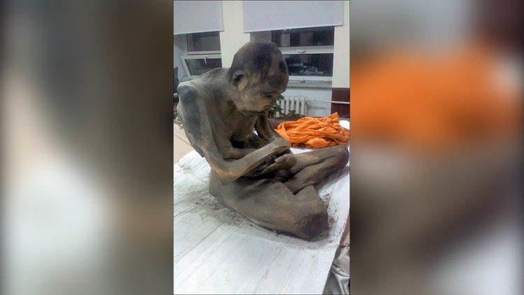 العثور على مومياء عمرها 200 عام في وضعية تأمل روحي