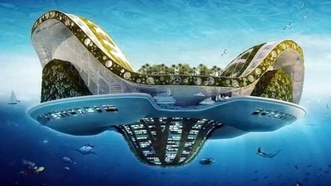 أول مدينة عائمة ستكتمل عام 2020