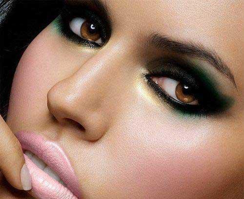 ألوان الظلال المثالية للعيون البنية..لنظرات تقطر سحراً