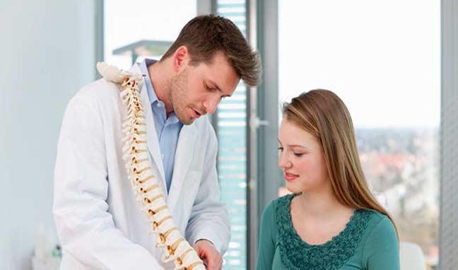 """علاج """"  الديسك """" من دون جراحة"""