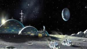 هل ننجح في بناء قرية على سطح القمر قريبا؟