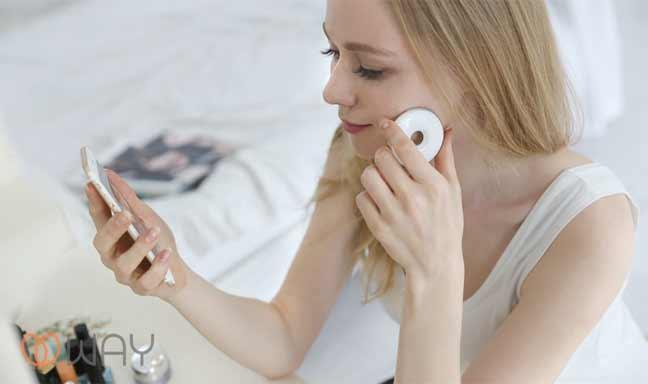 جهاز ذكي لتتبع حالة جلد الإنسان