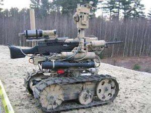 روبوتات حربية روسية حديثة