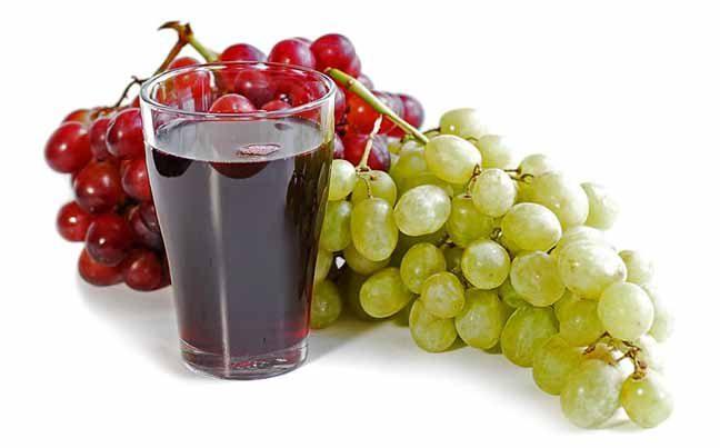عصير العنب يخفف مستويات الكوليسترول