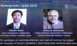 ياباني وكندي يفوزان بجائزة نوبل للفيزياء لعام 2015