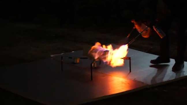 ابتكار طائرة بدون طيار لإنقاذ الناس من الحريق