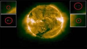 هواة يرصدون سفنا فضائية بالقرب من سطح الشمس
