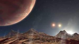 اكتشاف كوكب فريد بثلاث شموس