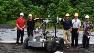 روبوت مخصص لإنشاء مهابط على سطح القمر والمريخ