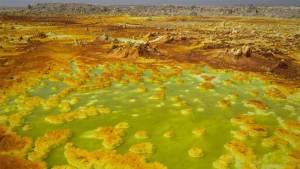 وادي في إثيوبيا من أكثر البقاع غرابة!