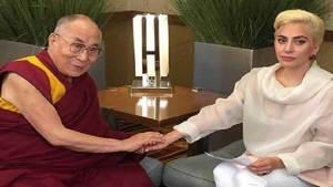 الصين تحظر أغاني ليدي غاغا بعد لقائها بالدالاي لاما