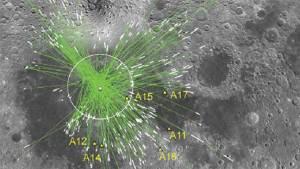 العثور على آثار سقوط كوكب صغير على سطح القمر