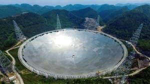 الصين تصنع أضخم تلسكوب في العالم