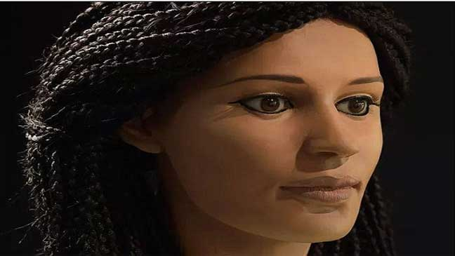 ترميم رأس فرعونية محنطة عاشت منذ 2000 عام