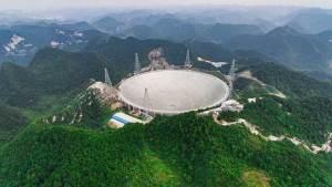 الصين تكشف النقاب عن أكبر تلسكوب في العالم