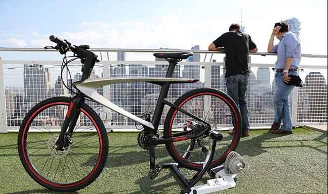 دراجة ذكية مبتكرة بتقنيات مذهلة