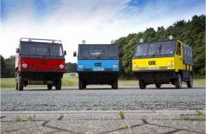 تصميم أول شاحنة يمكن طيها في العالم
