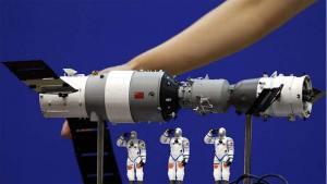 المحطة الفضائية الصينية تسقط وتتجه نحو الأرض
