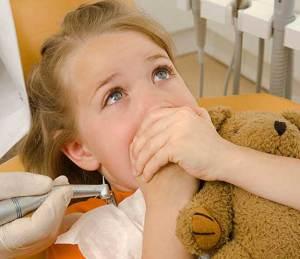 خوف الأطفال والأمهات من طبيب الأسنان