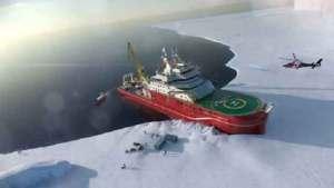 بريطانيا تبدأ بناء سفينة قطبية عملاقة