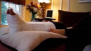 علاج الكسور بالموجات فوق الصوتية أمر غير مجد