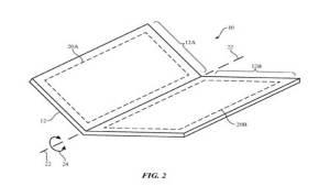 أبل تسجل براءة اختراع لهاتف آيفون قابل للطي