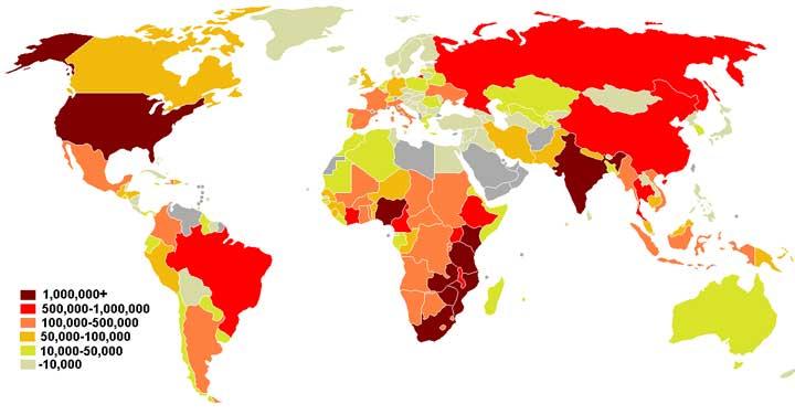 أكثر من 18 مليون شخص يعالجون من الإيدز