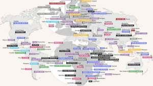 أكثر ما يميز 38 بلدا في أنحاء العالم