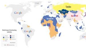 تعرف على المواقع الإلكترونية الأكثر شعبية في العالم