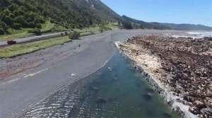 شاهد الشقوق المتشكلة من زلزال نيوزيلندا