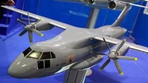 طائرة نقل حديثة تسلم إلى الجيش الروسي
