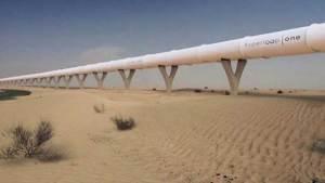 الإمارات تطلق مشروع قطار هايبرلوب فائق السرعة