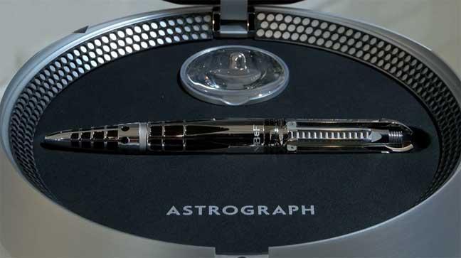 قلم مستقبلي التصميم يباع في سويسرا بثمن فلكي