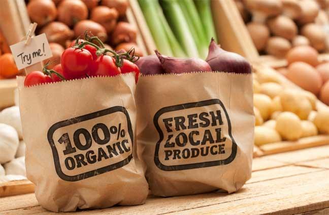 الأغذية العضوية Organic products