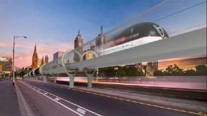 مصممو أستراليا يكشفون عن تصميم هايبر لوب لـ سبيس إكس