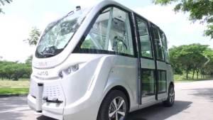 سنغافورة تطلق حافلة ذاتية القيادة مع بداية 2017