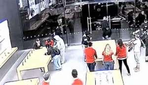 سرقة متجر أبل