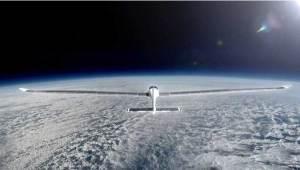 """""""سولارستراتوس"""" أول طائرة شمسية تصل حافة الفضاء"""