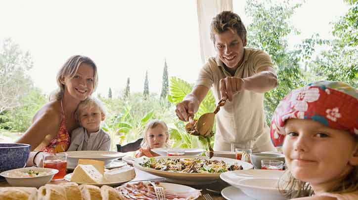 وجبات من أجل دهون  وكوليسترول أقل