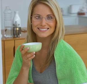 الشاي الأخضر لصحة الفم