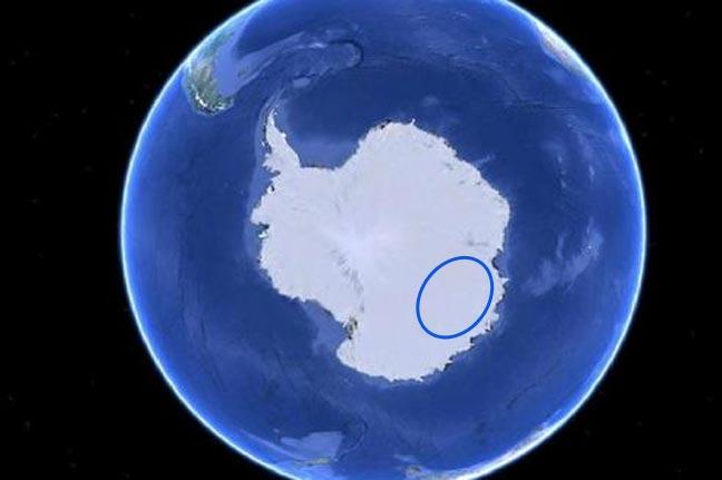 """مزاعم بوجود """"قاعدة نازية للكائنات الفضائية"""" في القطب الجنوبي"""