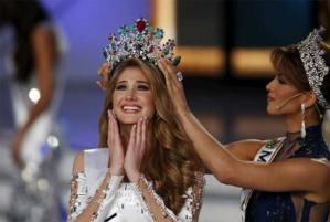 ملكة جمال فنزويلا السورية الأصل مريم امطانيوس حبش