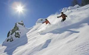 منتجعات جبال الألب للتزلج