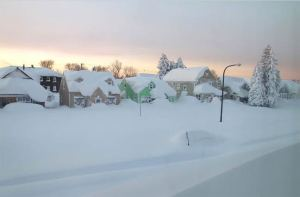 تساقط الثلوج يشكل خطرا على صحة القلب