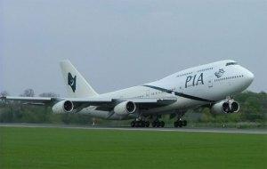 مهزلة بشرية على متن طائرة باكستانية