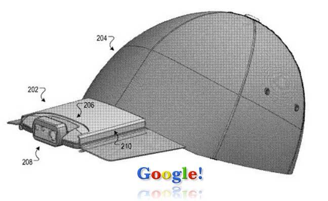 غوغل تحول نظاراتها الذكية إلى قبعة